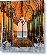Ocean Window Metal Print