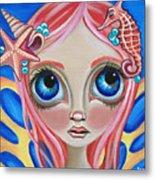 Oceanic Fairy Metal Print