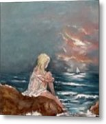 Oceanic Relaxation Metal Print