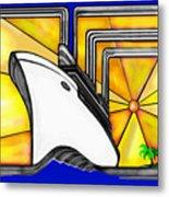 Oceanliner Metal Print