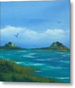 Oceans Islands Metal Print