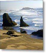 Oceanscape Metal Print
