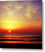 Ocen Sunrise. Metal Print