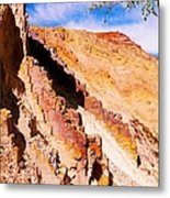 Ochre Pits #3 - West Mcdonald Ranges Metal Print
