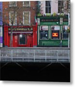 Oconnells Pub And The Batchelor Inn - Dublin Ireland Metal Print