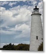 Ocracoke Island Lighthouse Metal Print