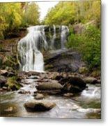 October At Bald River Falls Metal Print