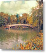 October In Central Park Metal Print