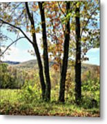 October In Vermont Metal Print