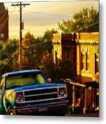 October Light In Duluth Metal Print