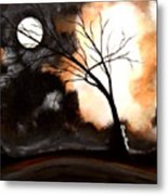 October Night 4 Metal Print