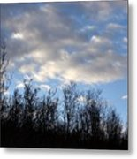 October Skies Metal Print