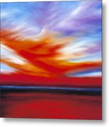 October Sky II Metal Print