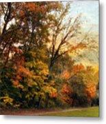 October Trail Metal Print