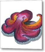Octopus Dance Metal Print