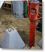 Odds And Ends And Shapes Metal Print