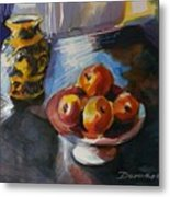 Ode To Cezanne Metal Print