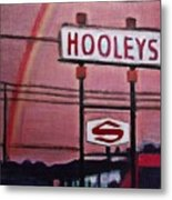 Ode To Hooley's Metal Print
