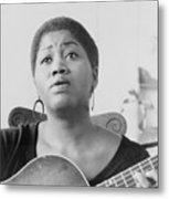 Odetta Holmes 1930-2008, African Metal Print by Everett