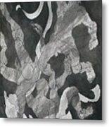 Odysseus Saved From Drowning By Inos Veil Metal Print