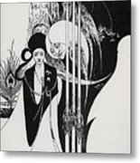Of A Neophyte And How The Black Art Was Revealed Unto Him Metal Print