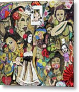 Of Babes And Butterflies Metal Print