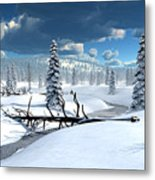 Of Blankets And Sheets Metal Print