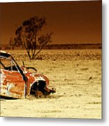 Off Road Metal Print
