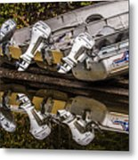 Off Season Outboards Metal Print