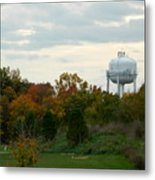 Off The Green-golf Course Metal Print