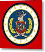 Official Odd Squad Seal Metal Print