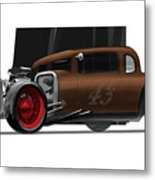 Og Hot Rod Metal Print by Jeremy Lacy