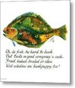 Oh De Fish Metal Print