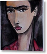 Oh For Frida Metal Print