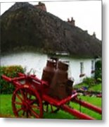 Oh Ireland Where My Heart Lives Metal Print