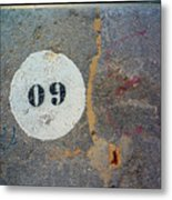Oh Nine Metal Print