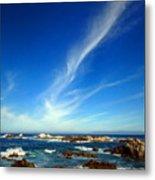 Oh The Beauty  Monterey Peninsula Ca  Metal Print