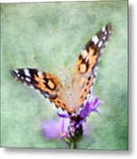 Oh What A Lady Metal Print