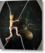 Oh What A Wicked Web Metal Print
