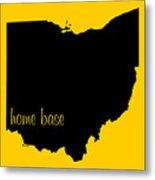 Ohio Is Home Base Black Metal Print