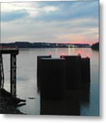 Ohio River View Metal Print