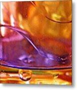 Oil And Water 14 Metal Print