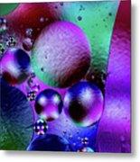 Oil And Water 2 Metal Print