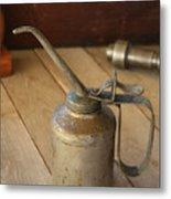 Oil Can Metal Print