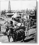 Oil: Texas, 1920 Metal Print