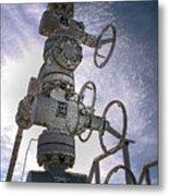 West Texas Oil Well #1 Metal Print