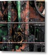 Oil Well Metal Print