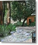 Ojai Arts Center Metal Print