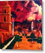 Ojai Red I Metal Print