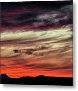 Ojo Caliente Sunset Metal Print